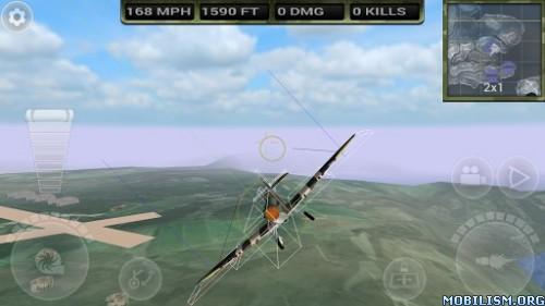 FighterWing 2 Flight Simulator v2.64 [Mod Money] Apk