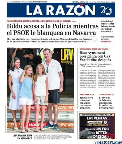 La Razón – 02 August, 2019 [ESP]