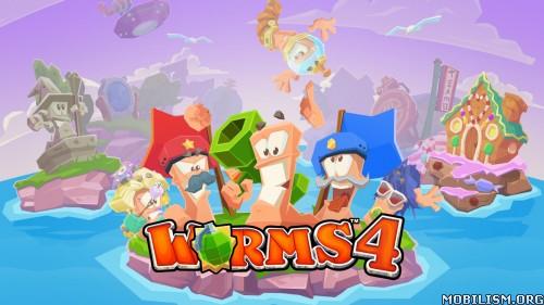 Worms 4 v1.0.432182 (Unlocked) Apk