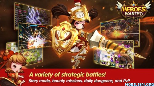 Quest RPG HEROES WANTED v1.0.6.23491 [Mod] Apk