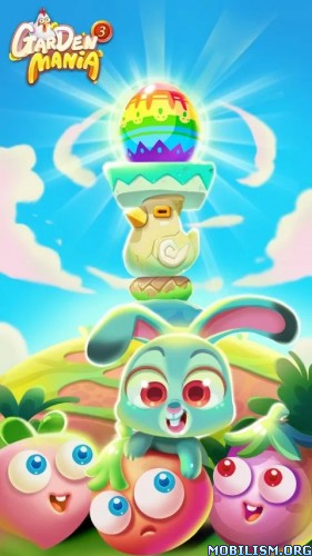 Garden Mania 3 - Happy Easter v1.3.7 [Mod] Apk
