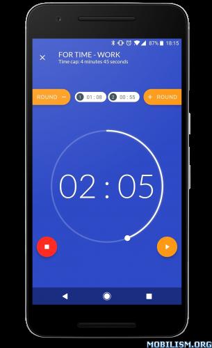 ?dm=VBYK - Workout timer : Crossfit WODs & TABATA v3.2.2 [Ad Free]