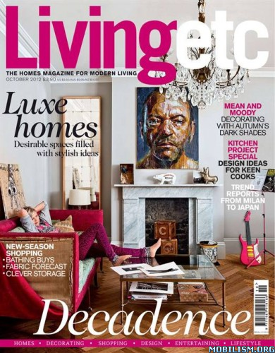 Magazines • Living Etc – October 2012 (.PDF)