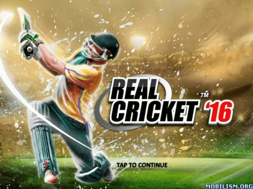 Mod] Real Cricket 16 apk 2 4 2 obb data modded (Unlimited
