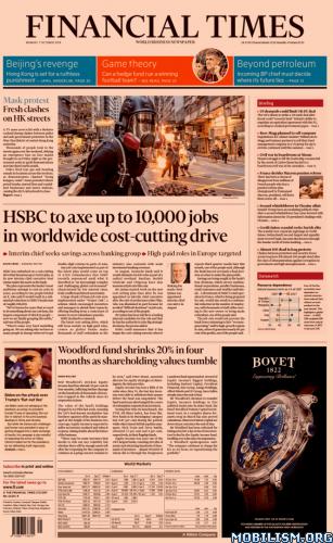 Financial Times UK – October 07, 2019