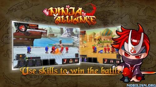 Ninja Alliance v1.1 [Mod Money]