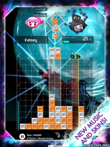 ELUMINES PUZZLE AND MUSIC v1.3.0 Apk