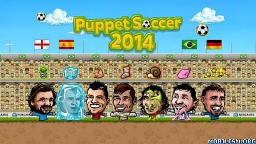 Puppet Soccer 2014 v1.0.99 [Unlimited Coins/Gems] Apk