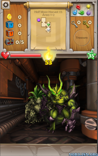 Dungeon Monsters v2.1.019 (Mod) Apk
