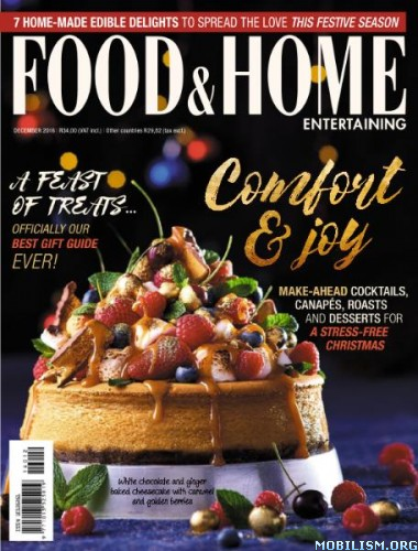 Download ebook Food & Home Entertaining - December 2016 (.PDF)
