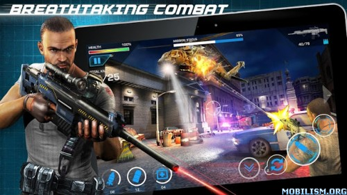 Border Wars: Sniper Assault v1.0.15 [Mod Money] Apk