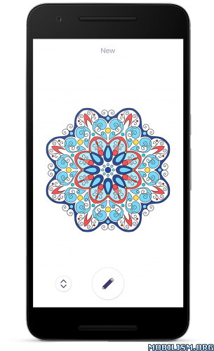 Coloring Book For Me Mandala V17 Premium