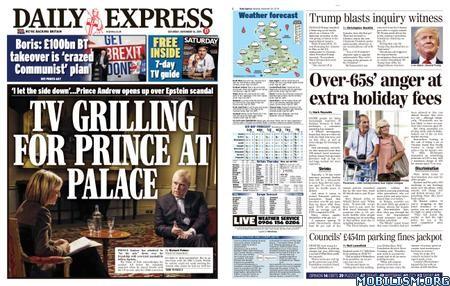 Daily Express – November 16, 2019