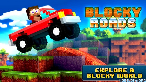 Blocky Roads v1.2.5 [Mod Money/Unlocked] Apk