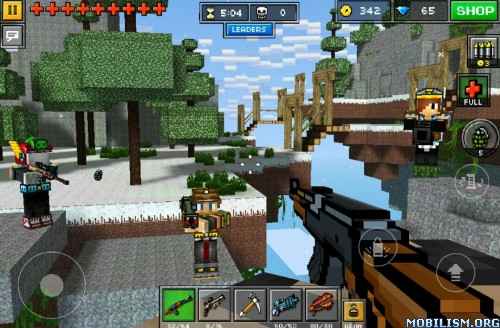 Pixel Gun 3D (Pocket Edition) v10.2.5 (Mod Money/Exp) Apk