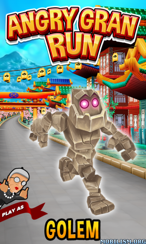 Angry Gran Run - Running Game v1.41 (Mod Money/Unlocked/AdsFree) Apk