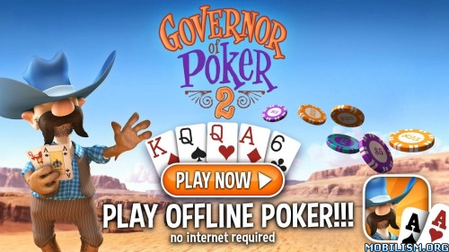 Governor of Poker 2 Premium v2.2.7 + (Mod Money) Apk
