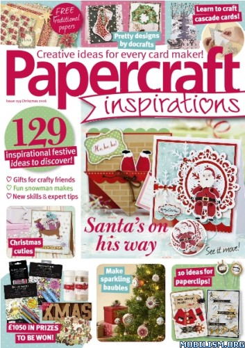 Download ebook Papercraft Inspirations - Christmas 2016 (.PDF)