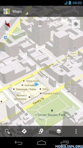 Android: Google Maps v6 11 1 Mod + World Navigation Activated