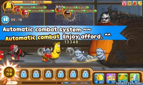 Larva Heroes 2 :X-Mas v1.2.5 (Unlimited Candy/Gold) Apk