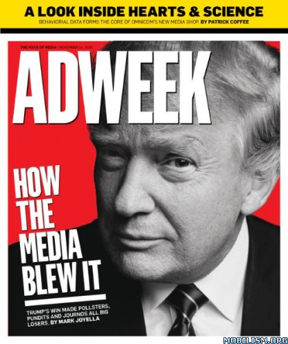 Download ebook Adweek - 14 November 2016 (.PDF)