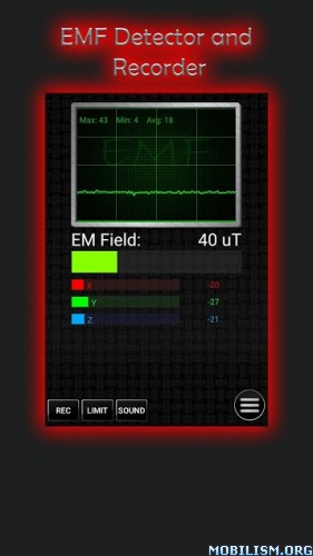 Download Ultimate Ghost Detector (real EMF, EVP recorder) v1 3 [Paid