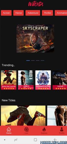Watchdl – Movies & TV Shows v1.8 MOD APK [Ad-Free] 1