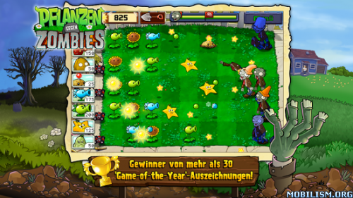Plants vs. Zombies FREE v1.1.44 (Mod Money) Apk