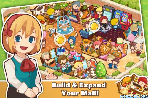 Happy Mall Story v1.5.0 (Unlimited Gems) Apk