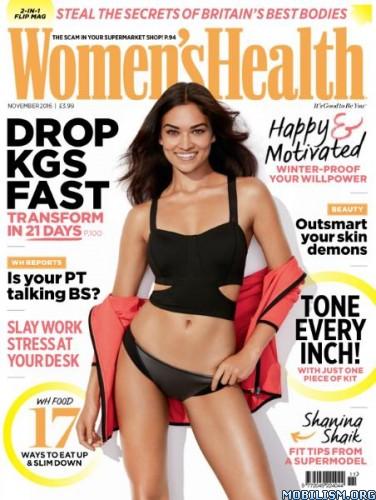 Download ebook Women's Health - November 2016 / UK (.PDF)