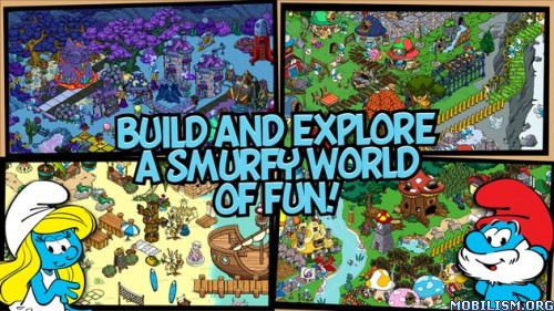 Smurfs' Village v1.7.3a (Mod Gold/Smurf Berry/Resource) Apk