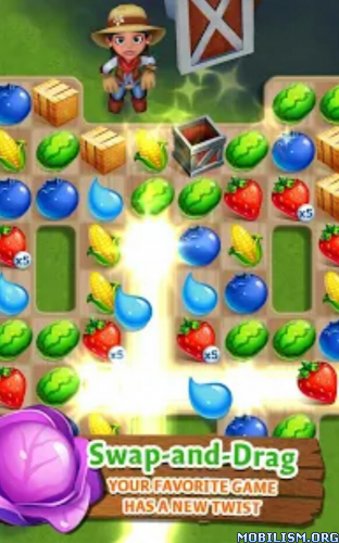 FarmVille: Harvest Swap v1.0.1887 (Mod Lives/Boosters) Apk