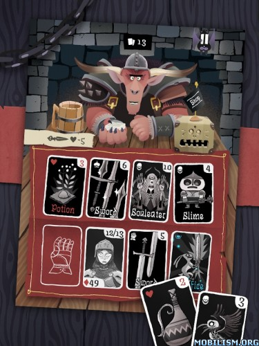 Card Crawl v2.2.1 [Unlocked] Apk