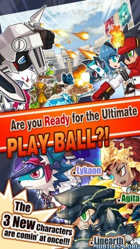 9 Elements : Action fight ball v1.23 (Mod Gems) Apk