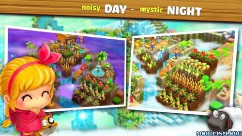 Cube Farm 3D: Skyland Craft v1.1.238a (Mod Money/Food) Apk