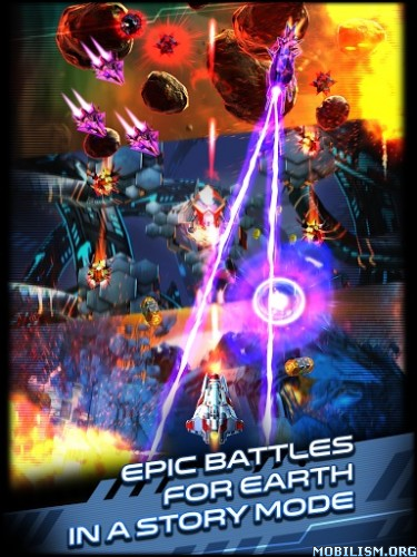 Space Warrior: The Origin v1.0.2 (Mod Coins/Gems/Energy) Apk