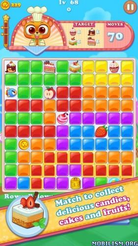 Gummy Smash v1.2.3 [Mod] Apk