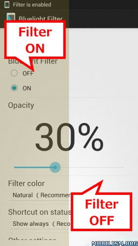 Bluelight Filter for Eye Care v1.62 + License Key