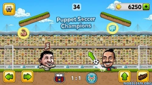 Puppet Soccer Champions 2014 v1.0.40 (Mod Money) Apk
