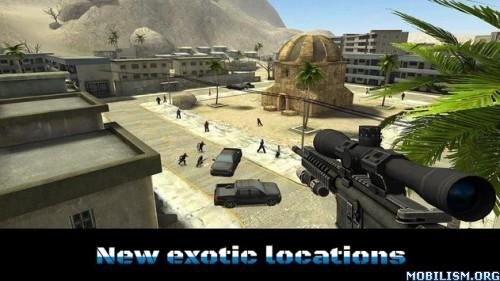 Sniper Ops:Kill Terror Shooter v38.0.1 (Mod Money/Energy) Apk