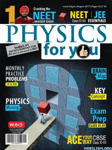 Download ebook Physics For You - August 2017 (.PDF)