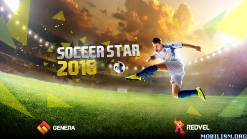 Soccer Star 2016 World Legend v3.1.3 [Mods] Apk