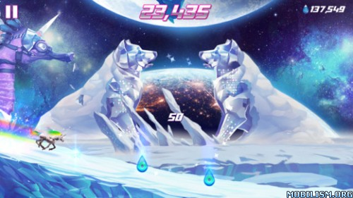 Robot Unicorn Attack 2 v1.7.1 (Unlimited Money/Embers)