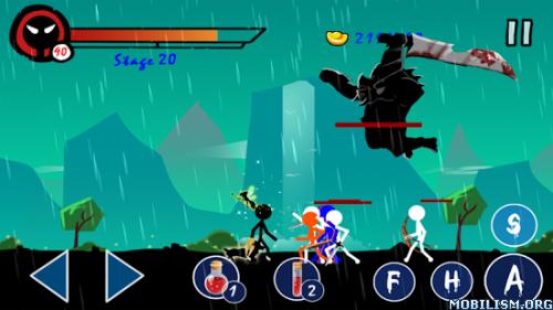 Stickman Ghost Warrior v1.0.2 (Mod Money) Apk