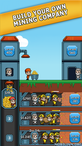 Idle Miner Tycoon v1.3.1 (Mod Money) Apk