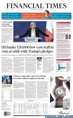 Download Financial Times – 27 February 2017 / Asia (.PDF)