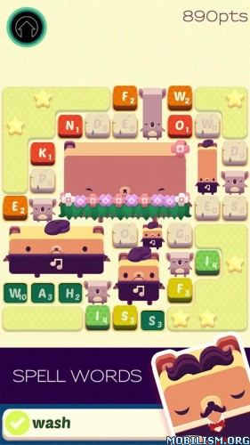 Alphabear v01.16.04 (Mod Money/Energy/Unlock) Apk