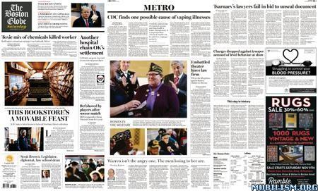 The Boston Globe – November 09, 2019