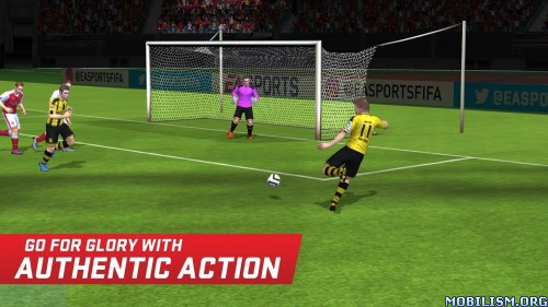 FIFA Mobile Soccer v1.1.0 [Mod] Apk