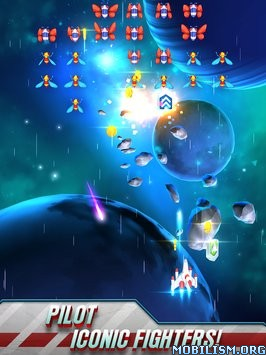 Galaga Wars v1.3.0 (Mod Money) Apk